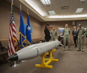 Chief of Staff Gen. David L. Goldfein and Chief Master Sergeant of the Air Force CMSgt. Kaleth O. Wright visit Kirtland Air Force Base, N.M.