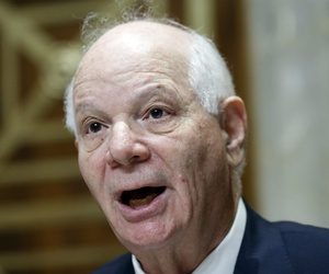 Sen. Ben Cardin, D-Md., teamed with nine Democrats and separately with a Republican in search for transparency.