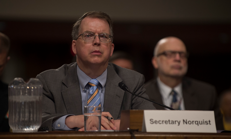 Under Secretary of Defense (Comptroller) David L. Norquist testified in June to Congress about, among other things, the harm done by continuing resolutions.