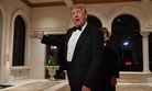 President Donald Trump at his Mar-a-Lago resort, in Palm Beach, Fla., Dec. 31, 2017.