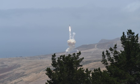 The U.S. Missile Defense Agency successfully intercepted an intercontinental ballistic missile target during a test of the Ground-based Midcourse Defense (GMD) at Vandenberg Air Force Base, Calif., May 30, 2017.