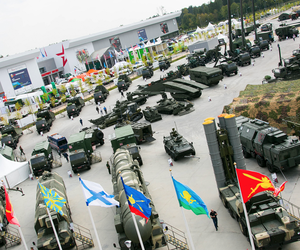 Russia's International Military-Technical Forum 2017 expo in Moscow, August 2017.