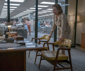 In the film 'The Post,' Tom Hanks and Meryl Streep portray Washington Post's Ben Bradlee and Katie Graham deciding whether to publish leaked classified information in the Pentagon Papers.