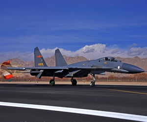 Expect China's air-to-air combat capabilities to get a boost in the next 12 months when the PL-15, an extended-range air-to-air missile, comes online.