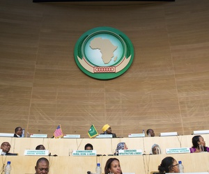 The African Union headquarters in Addis Ababa, Ethiopia, July 28, 2015.