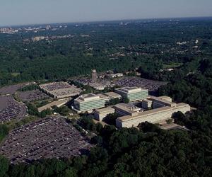 CIA headquarters in Virginia