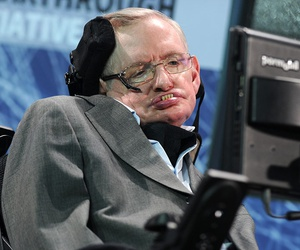Cosmologist Stephen Hawking