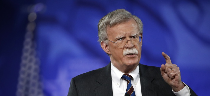 Former U.S. Ambassador to the UN John Bolton speaks at the Conservative Political Action Conference (CPAC), Feb. 24, 2017, in Oxon Hill, Md.