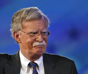 Former U.S. Ambassador to the UN John Bolton arrives to speak at the Conservative Political Action Conference (CPAC), on Feb. 24, 2017, in Oxon Hill, Md.