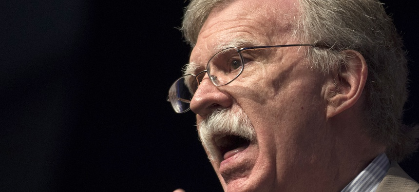 Amb. John Bolton speaks during Faith and Freedom Coalition's Road to Majority event in Washington, Thursday, June 19, 2014.