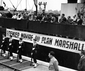 On May 10, 1948, the John H. Quick brought 8,800 tons of wheat to the port of Bordeaux, the first shipboard aid to France under the Marshall Plan.