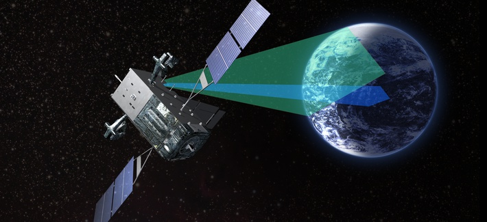 The USAF's new approach to acquisition will be tested by its replacement of the SBIRS missile-warning satellites, seen here in an artist's conception.