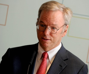 Eric Schmidt in New York, May 5, 2016.