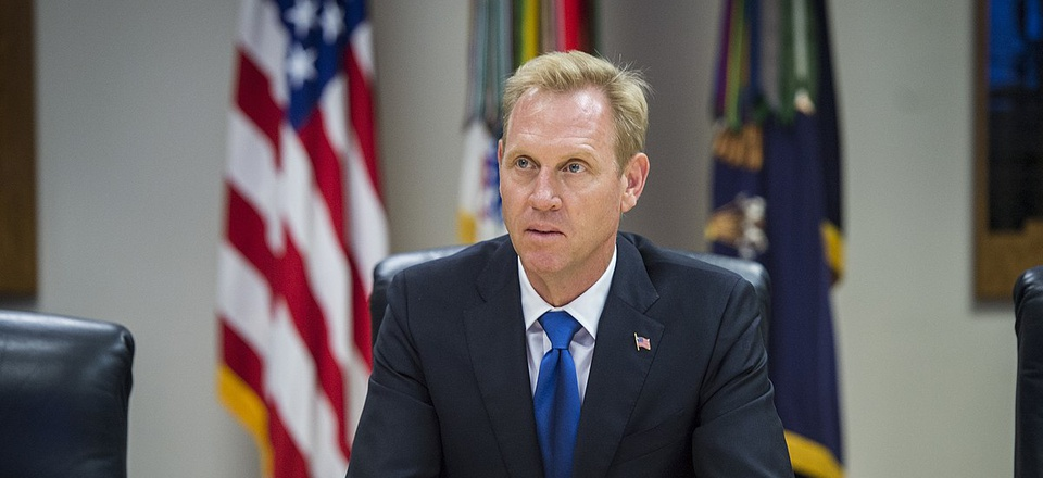 2017 file photo of Deputy Defense Secretary Patrick Shanahan