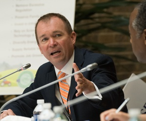 CFPB Acting Director Mick Mulvaney wants to be BCFP acting director.