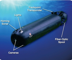 L3's Remora autonomous underwater vehicle.