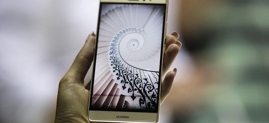The Huawei Mate S smartphone