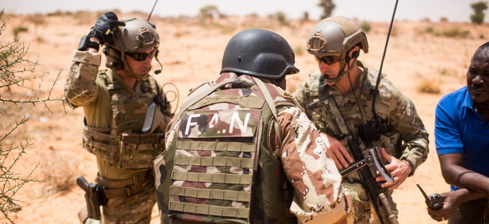 20th Special Forces Group and Nigerien Armed Forces train together in Niger and at key outstations at Burkina Faso and Senegal as part of Flintlock 2018.