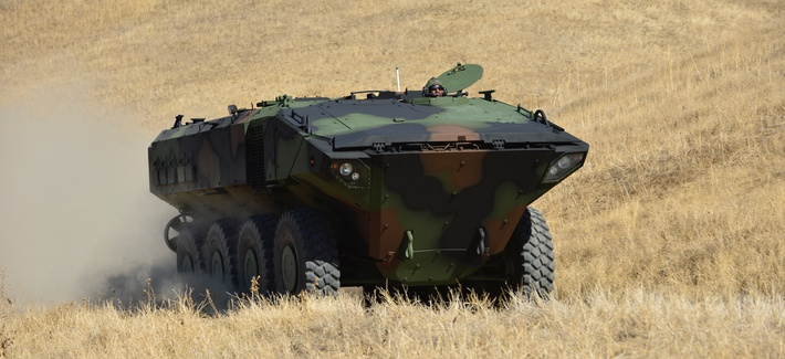 The Marine Corps has chosen the Iveco SuperAV in the Amphibious Combat Vehicle competition.