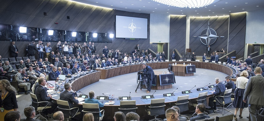 Meeting of the North Atlantic Council in Defence Ministers' Session