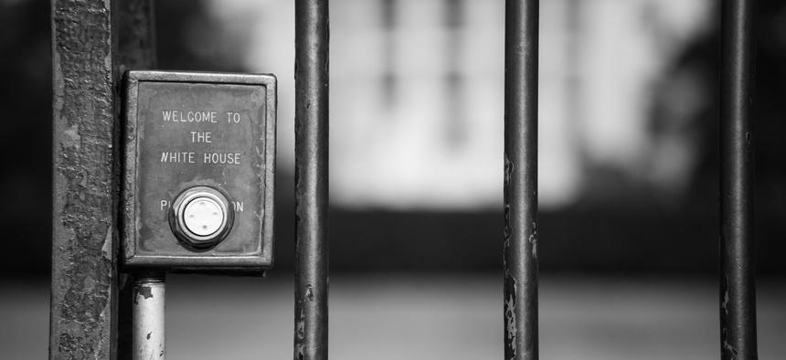 White House doorbell, 2015
