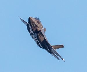 F-35 UK Arrival at RAF Marham on June 6, 2018.