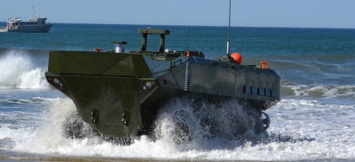 BAE Systems Amphibious Combat Vehicle