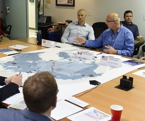 In a 2016 wargame, a joint set of participants works out Air Force coordination with the Navy's Distributed Lethality concept.