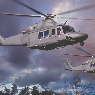 An Italian-Designed, American-Built Helicopter Will Replace US Air Force Hueys
