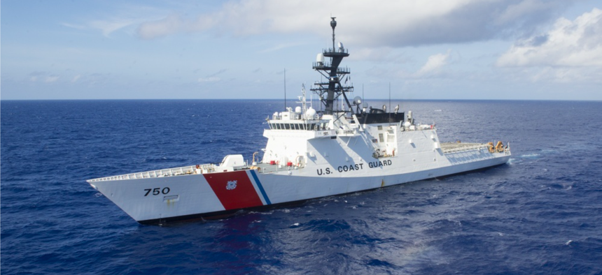 The U.S. Coast Guard Cutter Bertholf (WMSL 750) is underway July 29, during Rim of the Pacific (RIMPAC). Twenty-five nations, 46 ships and five submarines, about 200 aircraft and 25,000 personnel are participating in RIMPAC from June 27 to Aug. 2.