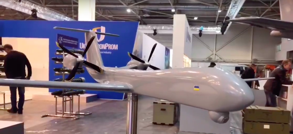 Anatov long-range UAV concept