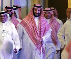 Saudi Crown Prince Mohammed bin Salman in Riyadh, Saudi Arabia, Wednesday, Oct. 24, 2018.