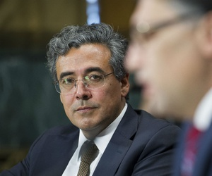 Now Solicitor General Noel Francisco at his nomination hearing in May 2017.