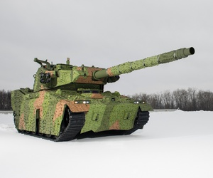 BAE Systems' entrant in the U.S. Army's Mobile Protected Firepower competition.