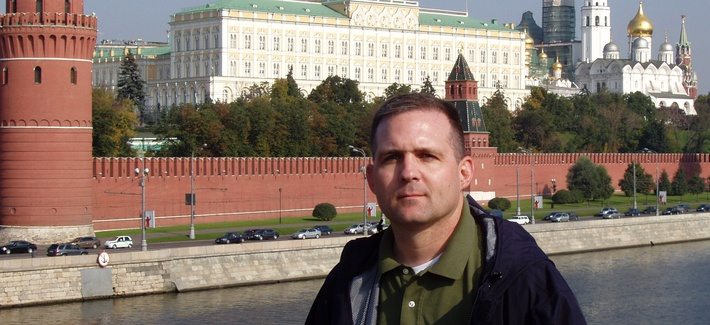 Paul Whelan is pictured on his two weeks of leave in St. Petersburg, Russia September 28, 2006.