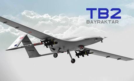 The Bayraktar TB2.