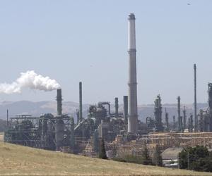 The Valero Benicia Refinery in Benicia, California.