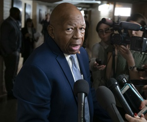 Rep. Elijah Cummings, D-Md., chairman of the House Oversight and Reform Committee, speaks at the Capitol earlier in January.