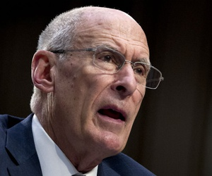 Director of National Intelligence Dan Coats testifies before the Senate Intelligence Committee on Capitol Hill in Washington Jan. 29.