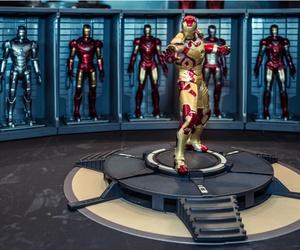 An Iron Man model room on display in Thailand Comic Con 2014 at Siam Paragon, Bangkok.