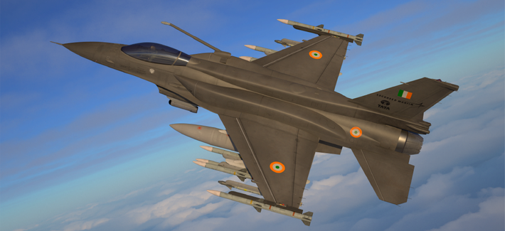 Lockheed Unveils F-21 Fighter, a Beefy F-16 Concept It's