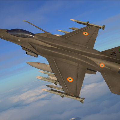 Lockheed Unveils F-21 Fighter, a Beefy F-16 Concept It's Pitching to India