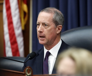 Then House Armed Services Committee Chairman Mac Thornberry, R-Texas, speaks during a hearing on the FY2019 budget April 12, 2018.