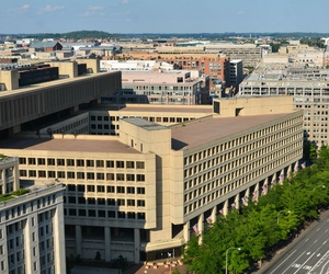 The FBI headquarters in downtown Washington is in serious disrepair.