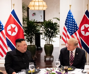 Trump and Kim meet in Hanoi in February.