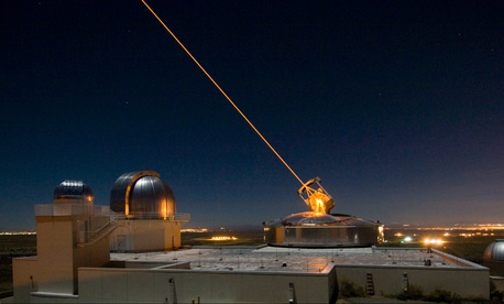 The Sodium Guidestar at the Air Force Research Laboratory Directed Energy Directorate's Starfire Optical Range.