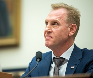 U.S. Acting Secretary of Defense Patrick Shanahan testifies to the House Armed Services Committee.