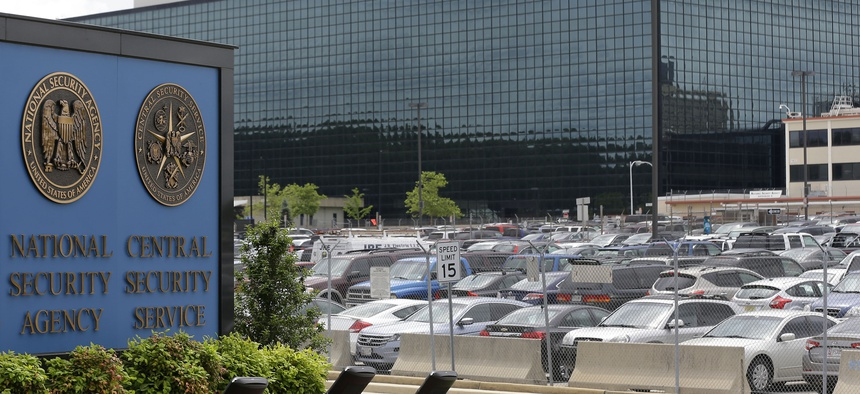 This Thursday, June 6, 2013 file photo shows the National Security Administration (NSA) campus in Fort Meade, Md.