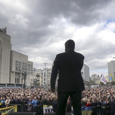 Ukraine's Election Is an All-Out Disinformation Battle