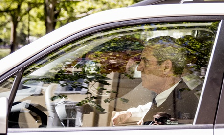 Special Counsel Robert Mueller departs Easter services at St. John's Episcopal Church, Sunday, April 21, 2019, in Washington.